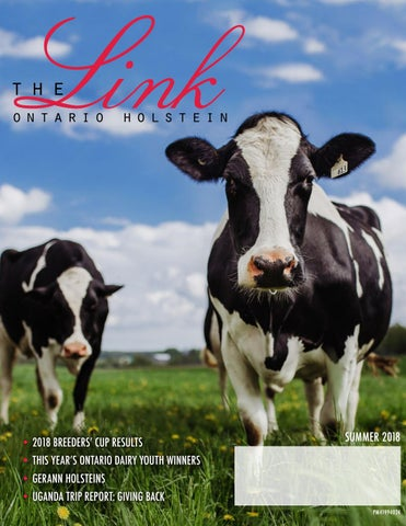 Link Summer 2018 by Ontario Holstein Branch - issuu