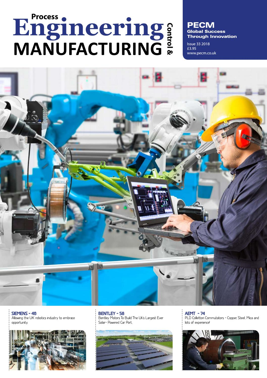Process Engineering Control & Manufacturing Issue 33 2018 by MH