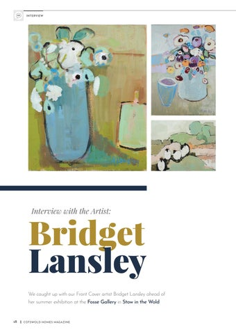 Page 18 of Interview with the artist: Bridget Lansley