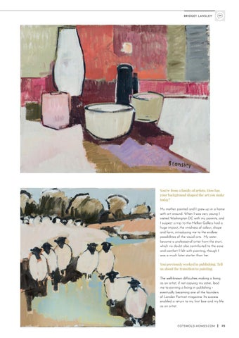 Page 19 of Interview with the artist: Bridget Lansley