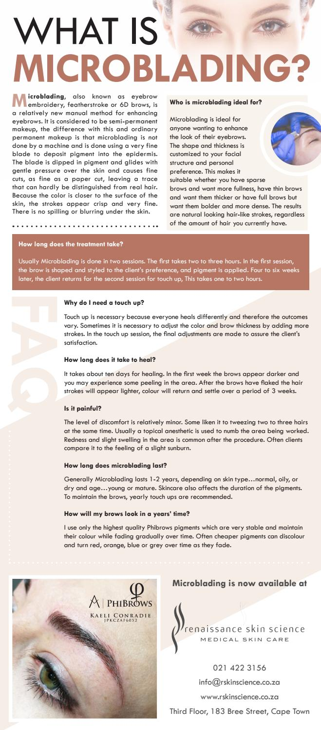 What is Microblading? by Renaissance Skin Science - issuu