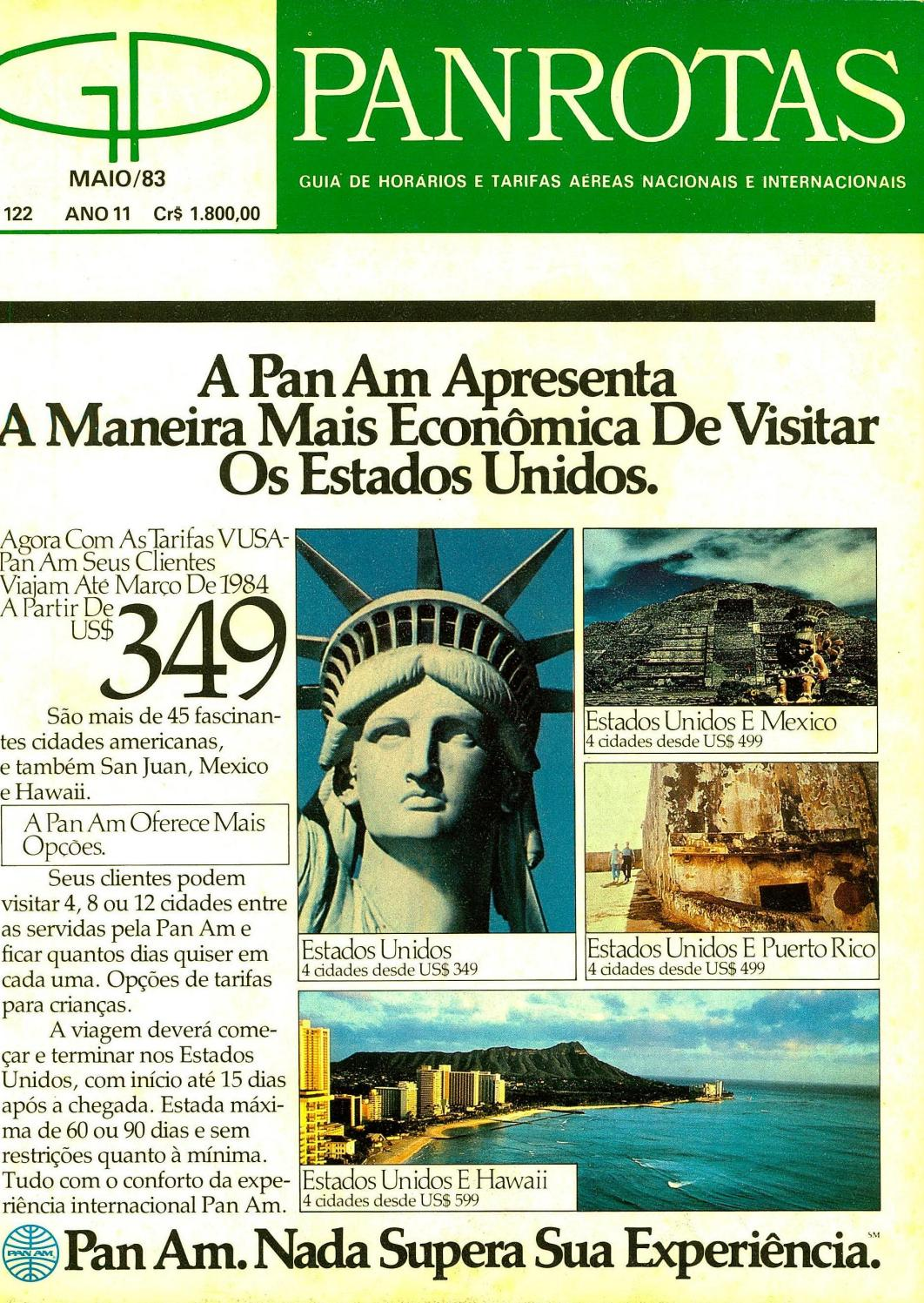 41b365b8619bd Guia PANROTAS - Edição 122 - Maio 1983 by PANROTAS Editora - issuu
