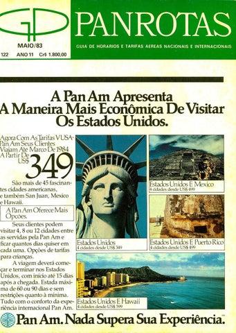 Guia PANROTAS - Edição 122 - Maio 1983 by PANROTAS Editora - issuu 9f64e8f0c4b9b