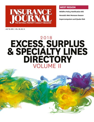 Insurance Journal West 2018-07-16