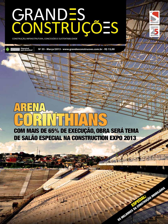 c84902978 Grandes Construções - Ed. 35 - Março 2013 by Sobratema Publicações - issuu