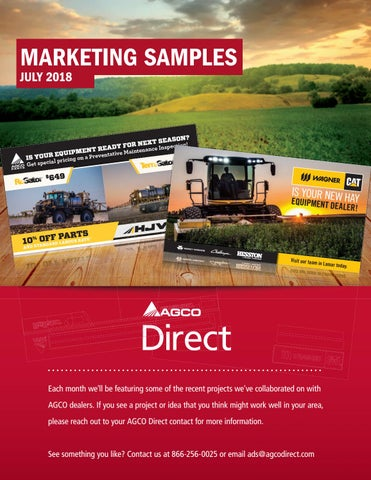 July Lookbook by AGCO Direct - issuu