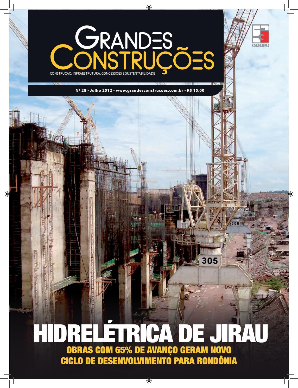 Grandes Construções - Ed. 28 - Julho 2012 by Sobratema Publicações - issuu e487b40656