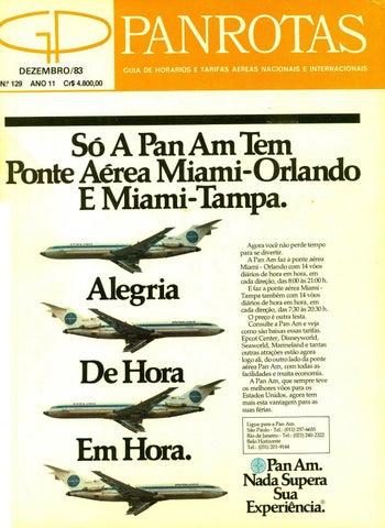 Guia PANROTAS - Edição 129 - Dezembro 1983 by PANROTAS Editora - issuu 69ffa50f309d3