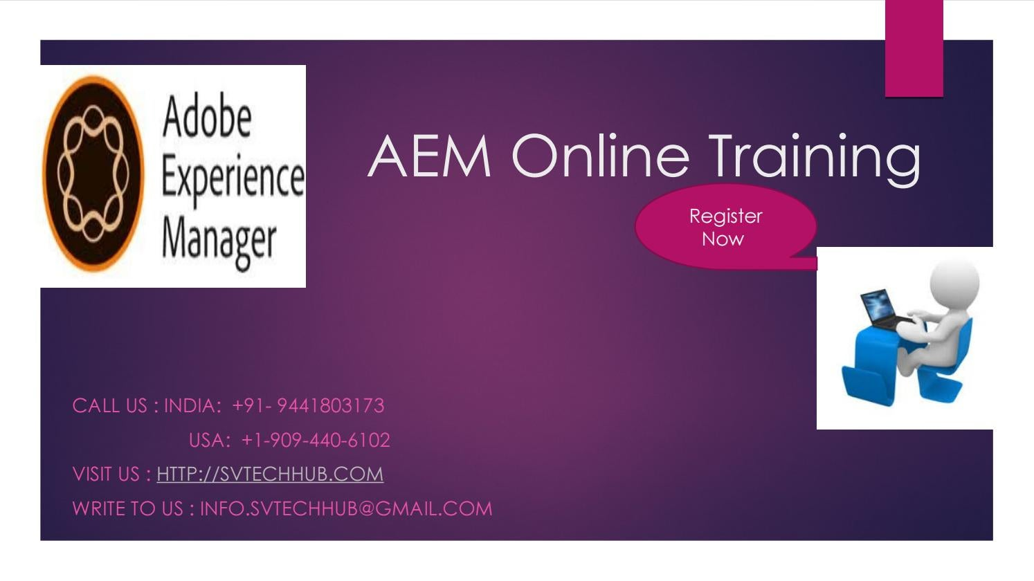 Aem Certification Course By Experts By Svtechhub333 Issuu