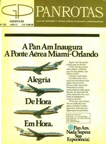 Guia PANROTAS - Edição 125 - Agosto 1983 by PANROTAS Editora - issuu b8718f72f4