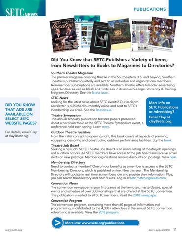 Page 11 of SETC Publications