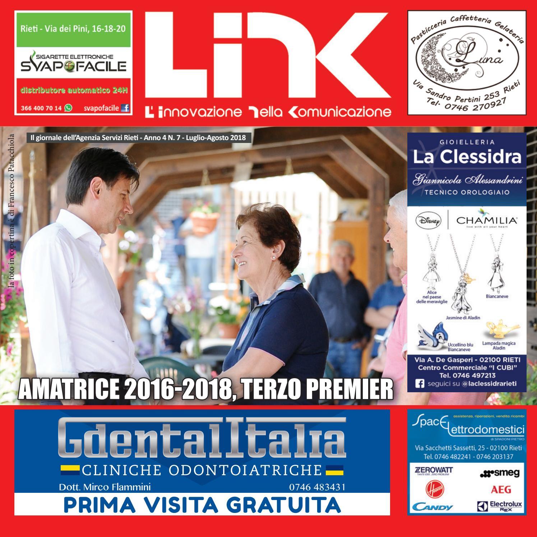 LINK LUGLIOAGOSTO 2018 Anno 4 N.7 by Agenzia Servizi