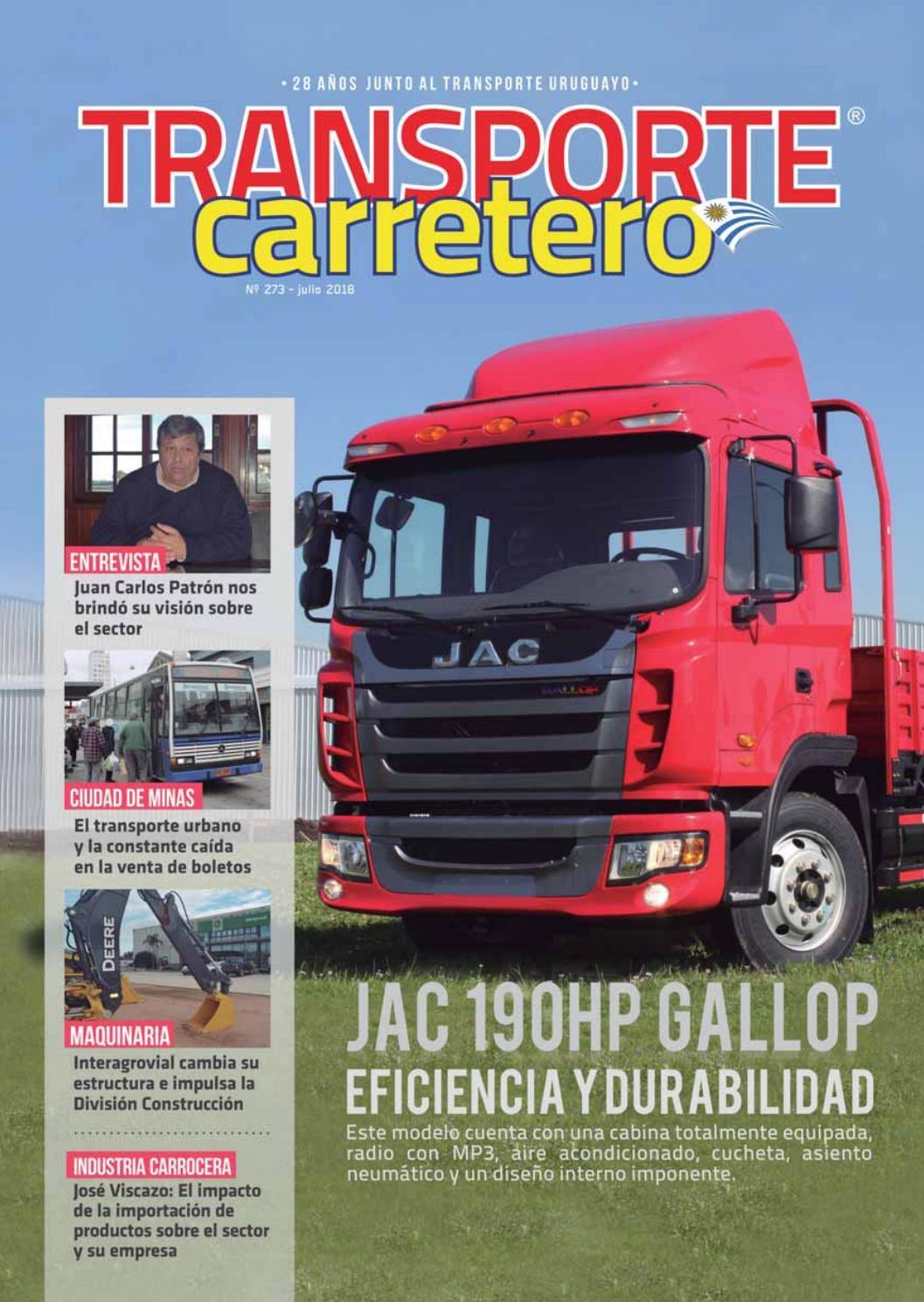 Transporte Carretero Nº 273 Julio 2018 by Diseño Producciones - issuu bd8a83ae736