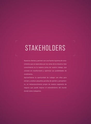 Page 42 of Stakeholders
