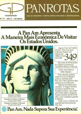 Guia PANROTAS - Edição 131 - Fevereiro 1984 by PANROTAS Editora - issuu 55b5241c5aa