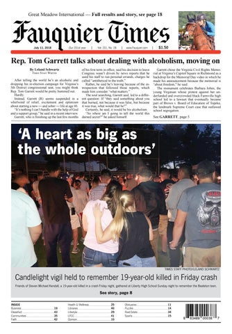 Fauquier Times July 11, 2018 by Fauquier Times - issuu