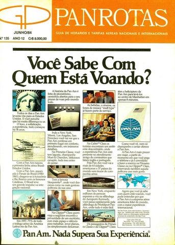 Guia PANROTAS - Edição 135 - Junho 1984 by PANROTAS Editora - issuu 3847f0bab3e