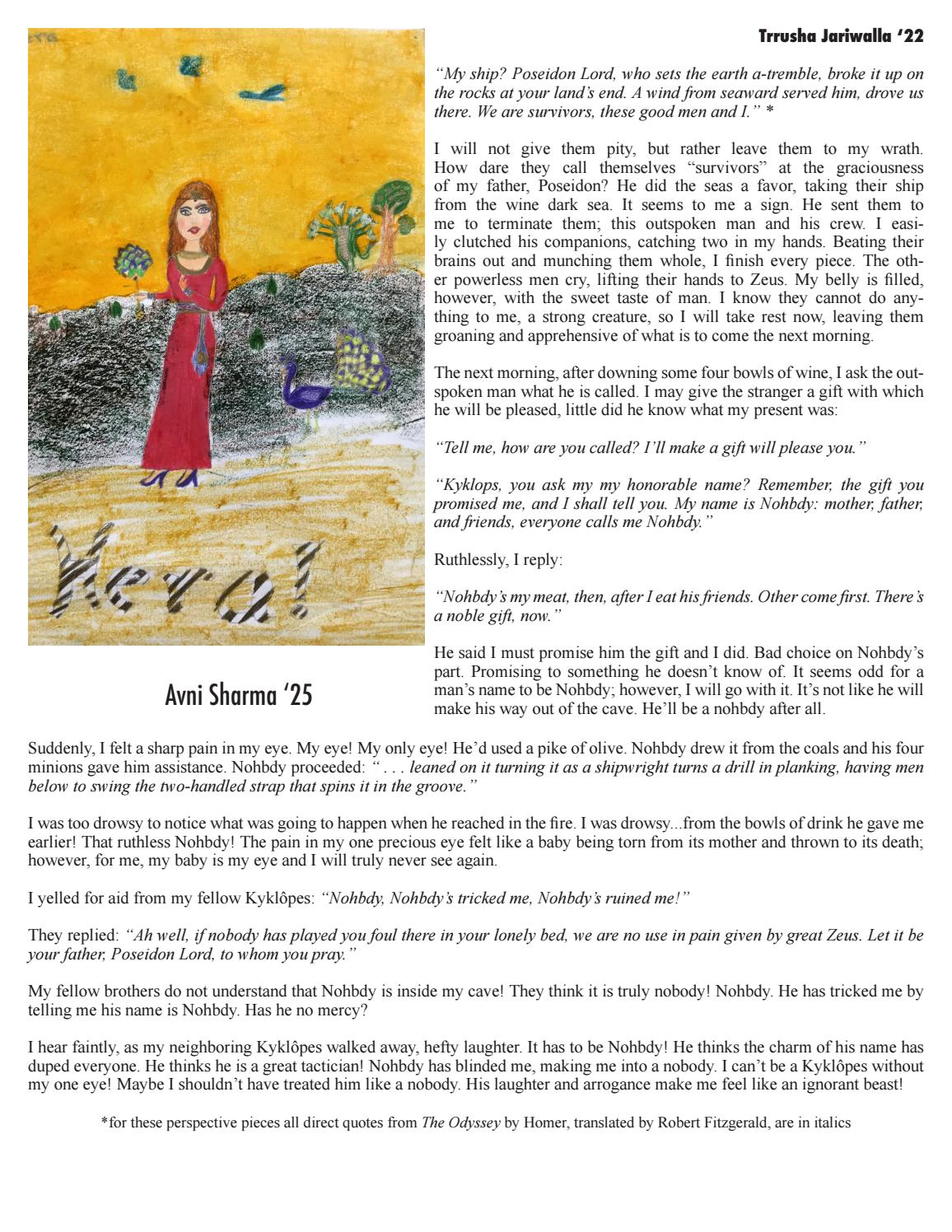 Voices and Visions by Montclair Kimberley Academy - issuu