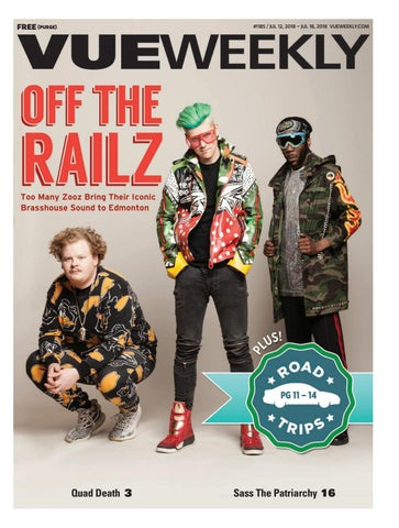 89497b635819 1185  Off The Railz by Vue Weekly - issuu