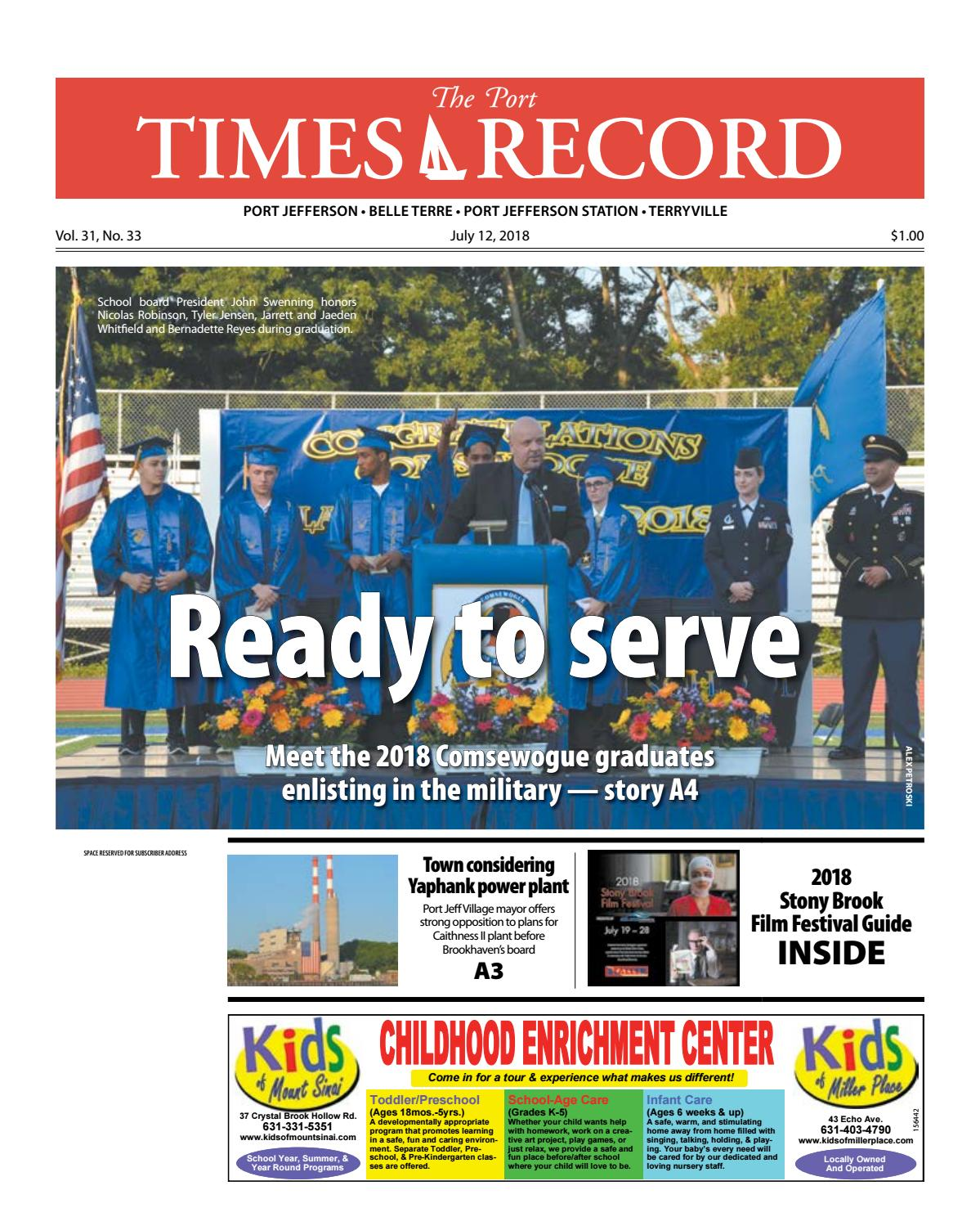 The Port Times Record - July 12. 2018 by TBR News Media - issuu