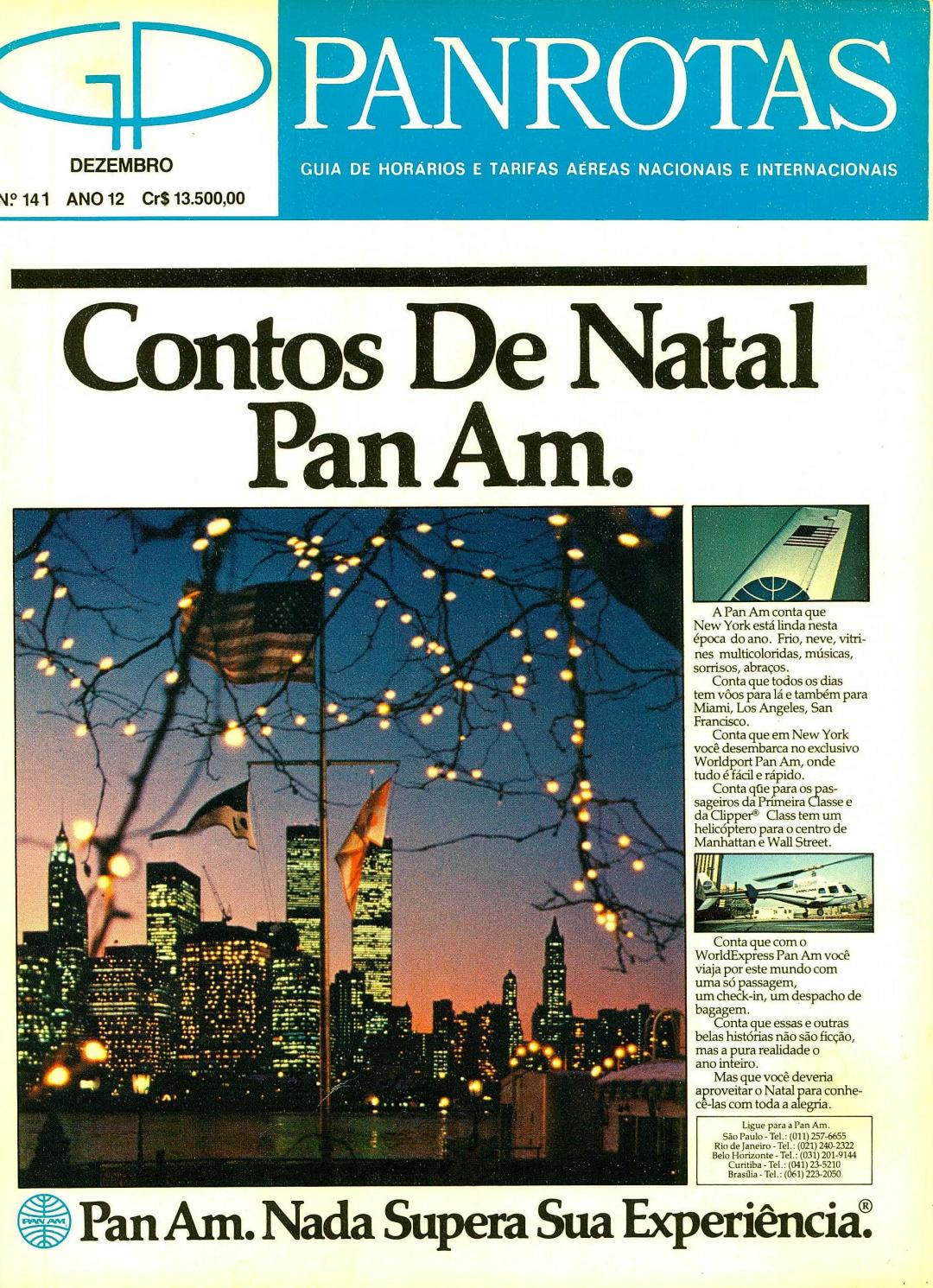 aa2f44a6c Guia PANROTAS - Edição 141 - Dezembro 1984 by PANROTAS Editora - issuu