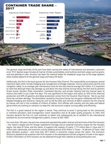 Page 7 of Port Houston The Economic Engine of the Region