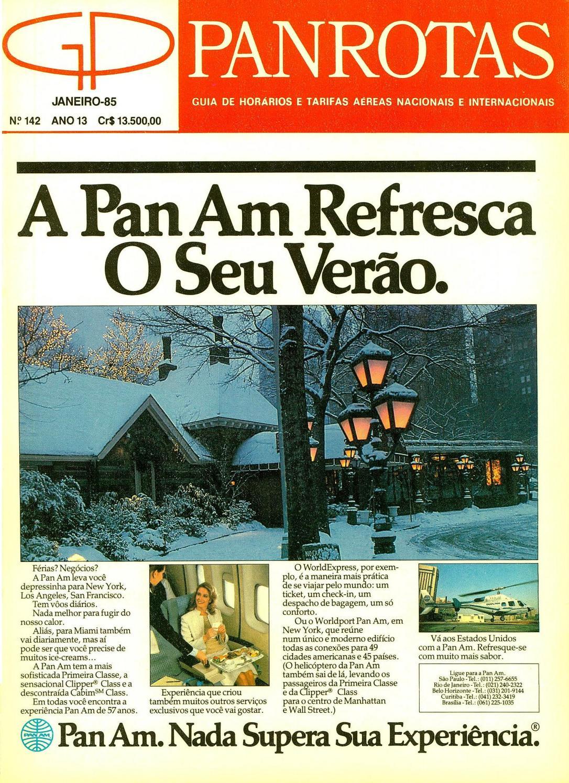 6e9f64c60 Guia PANROTAS - Edição 142 - Janeiro 1985 by PANROTAS Editora - issuu