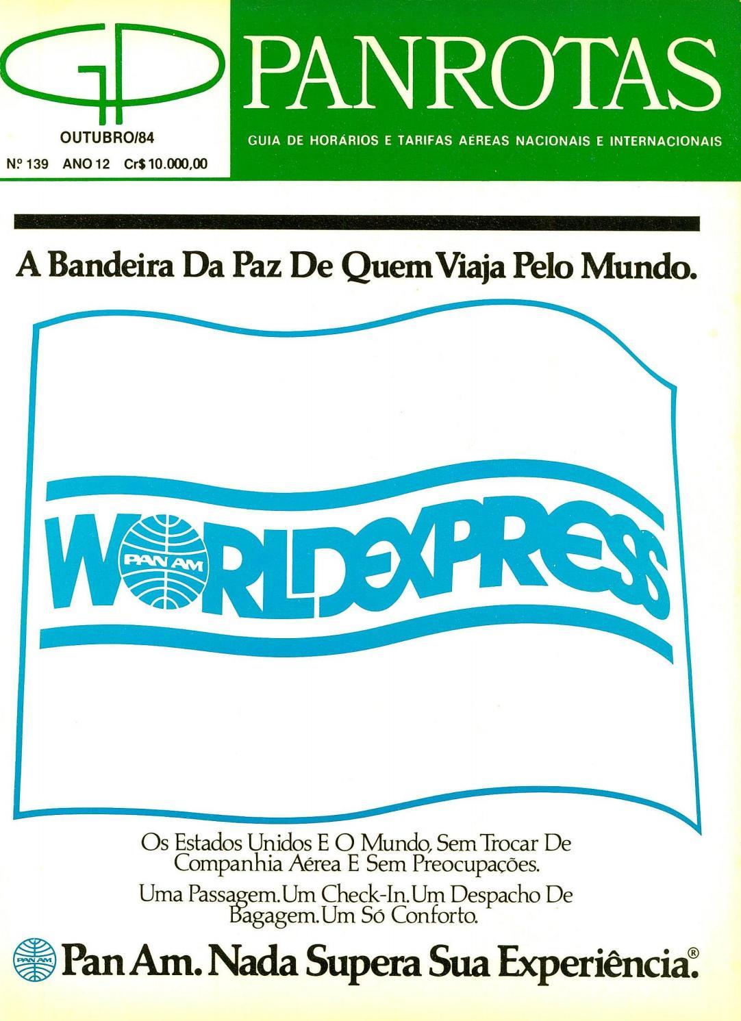 86da1f118 Guia PANROTAS - Edição 139 - Outubro 1984 by PANROTAS Editora - issuu