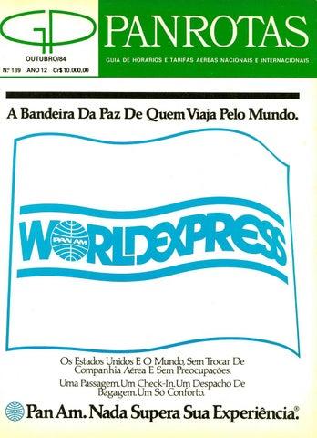 2473c0e9d Guia PANROTAS - Edição 139 - Outubro 1984 by PANROTAS Editora - issuu