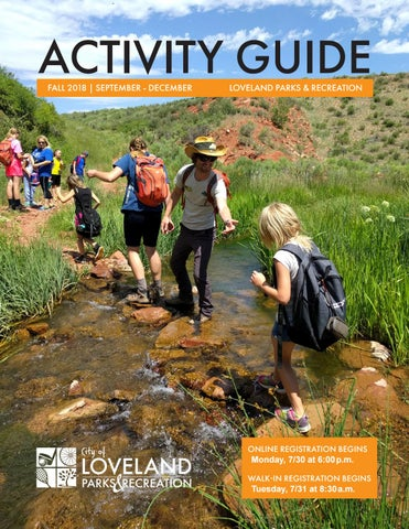 Page 1 of Fall into fun! Exciting things from Loveland Parks & Recreation