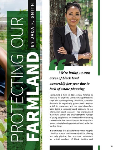 Page 19 of Protecting our Farmland