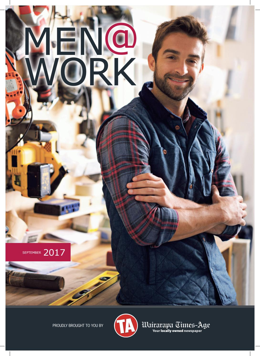 Men At Work 2017 By Wairarapa Times Age Issuu