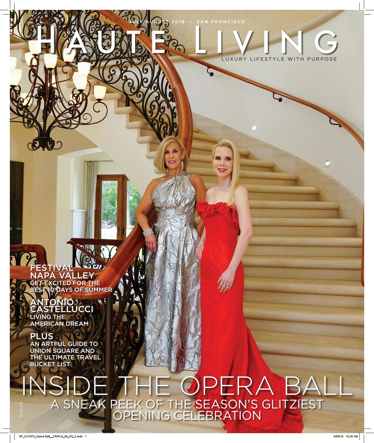 d1dbd898ad Haute Living San Francisco July/August 2018 by Haute Living San ...