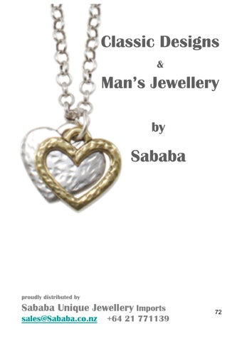 2bf517109 SABABA JEWELLERY LATEST DESIGN COLLECTIONS 2018/2019 Cookbook 2 of 2 ...