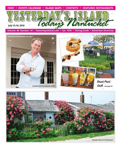 13e1981023b00 Yesterday's Island, Today's Nantucket; Vol 48, Issue 10; July 12-18 ...