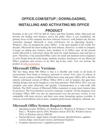 microsoft office 2013 service pack 1 activator