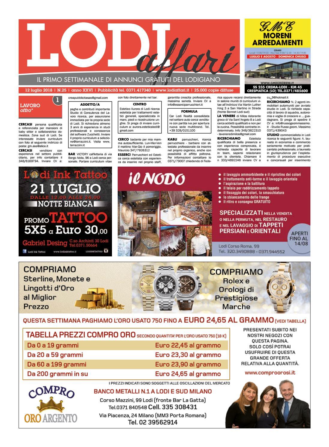 newest db236 24abb Lodi Affari 12 Luglio by Lodi Affari - issuu