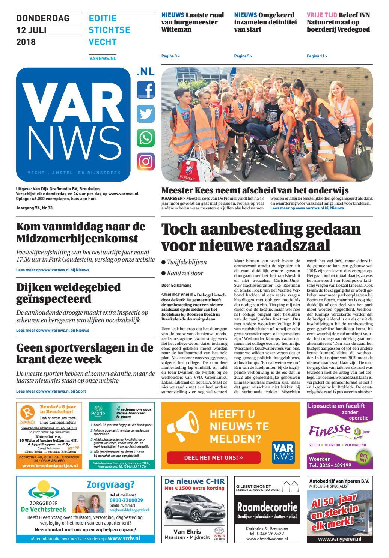 fe363f1e07c73d VARnws Stichtse Vecht 12 juli 2018 by VARnws - issuu