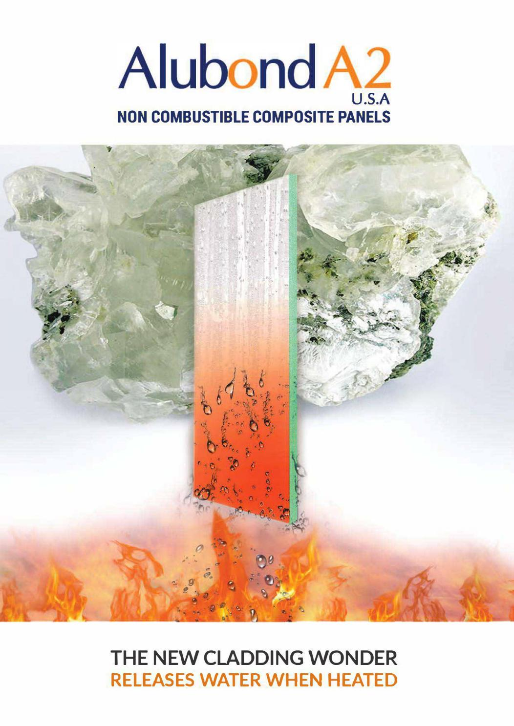 Alubond A2 | Non Combustible Composite Panels by New Media