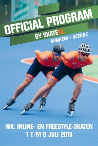 d53f4d09256 SkateNL / SchaatsNL WK Inline- en Freestyle-Skaten 2018 Arnhem ...