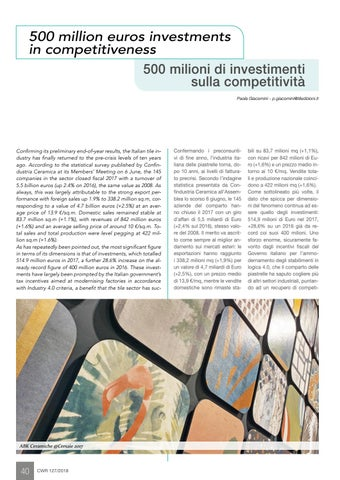 Page 42 of Italian tile industry improves competitiveness with 515 million euro investments