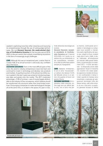 Page 43 of Italian tile industry improves competitiveness with 515 million euro investments