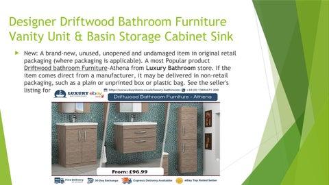 Designer Driftwood Bathroom Furniture