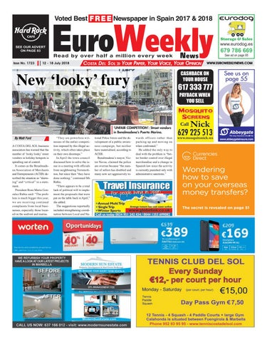 Euro Weekly News - Costa del Sol 12 - 18 July 2018 Issue