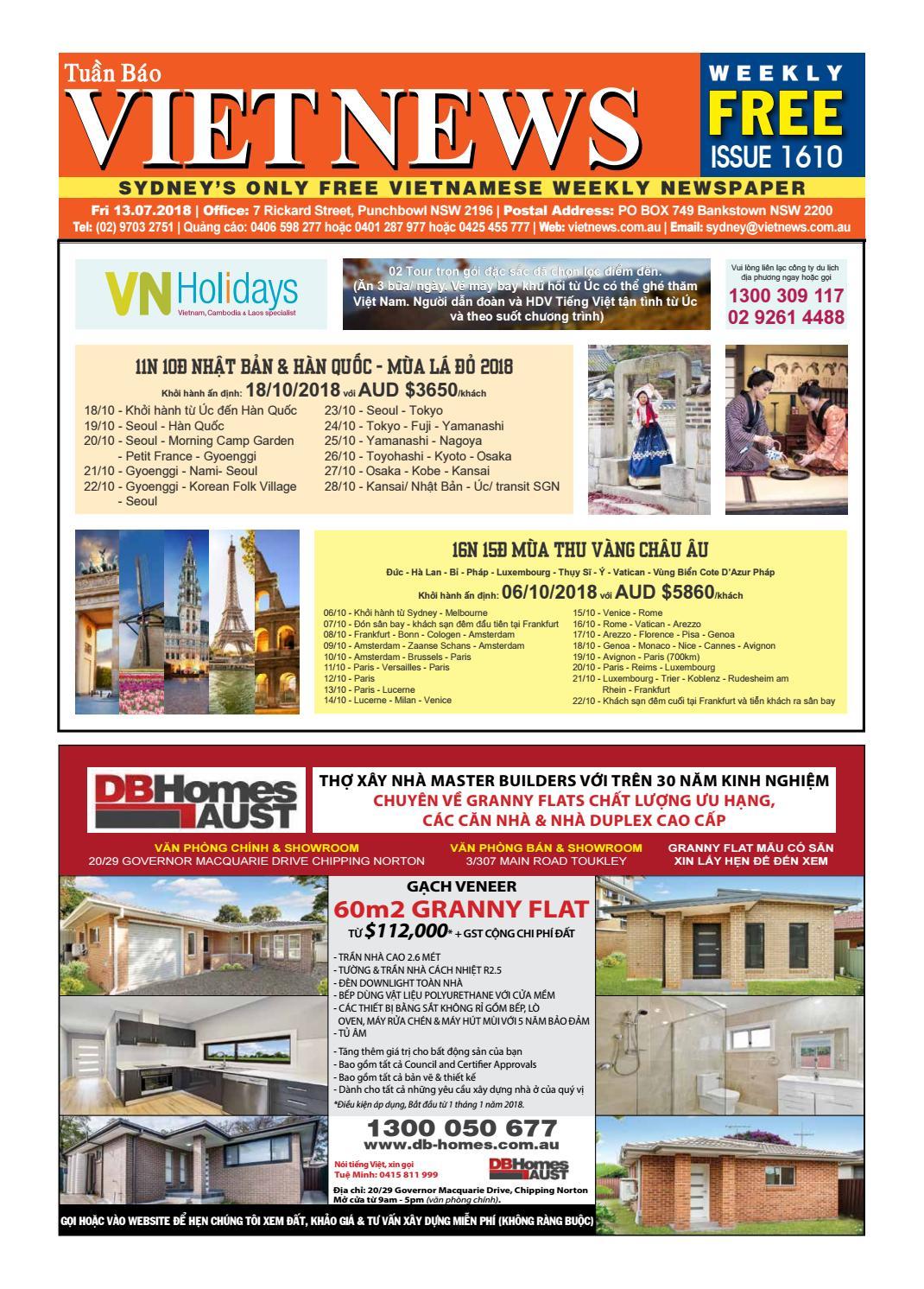 VietNews Sydney 13 07 2018 by VietNews - issuu 4b8d85c27002a
