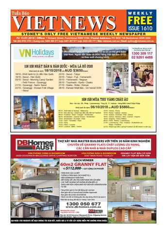 417fefd2d VietNews Sydney 13/07/2018 by VietNews - issuu
