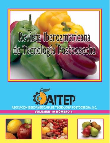 Revista Iberoamericana de Tecnología Postcosecha Vol.19 Nº1 by ...