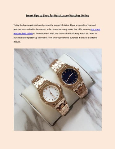 19e3809c0f014 Smart Tips to Shop for Best Luxury Watches Online Today the luxury watches  have become the symbol of status. There are ample of branded watches you  can find ...