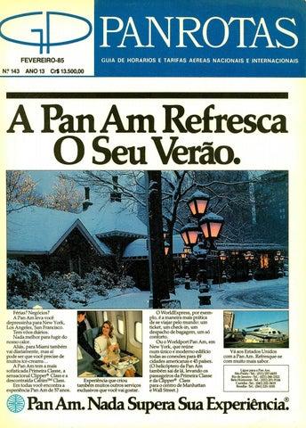 5c7ff8657b7a7 Guia PANROTAS - Edição 143 - Fevereiro 1985 by PANROTAS Editora - issuu