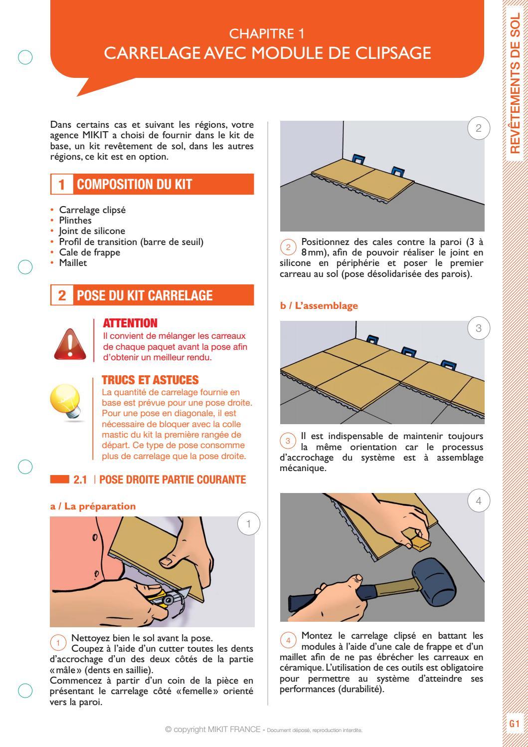 Modele De Carrelage Sol guide de montage - revêtement de sol | vebuka